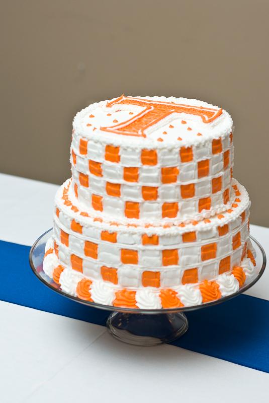 Tennessee Volunteers Cake