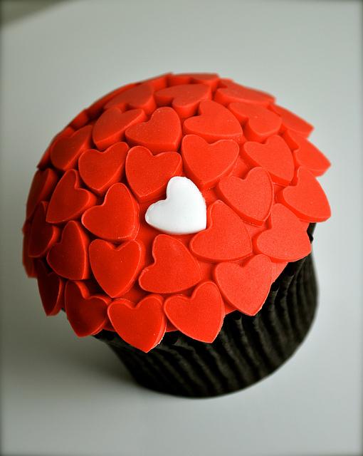 Unique Valentine's Day Cupcake