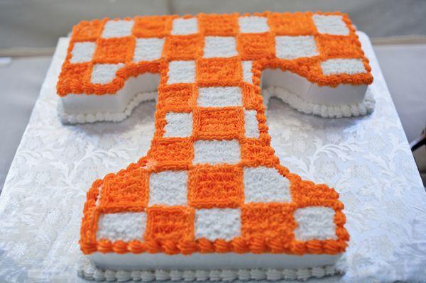 University of Tennessee Birthday Cake