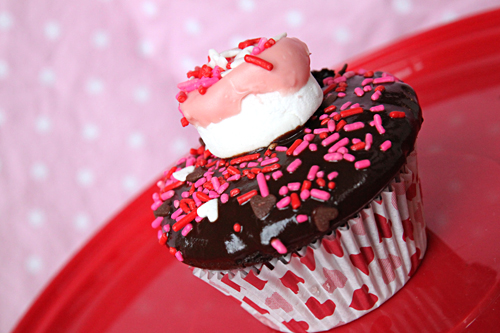 Valentine's Day Cupcake Idea