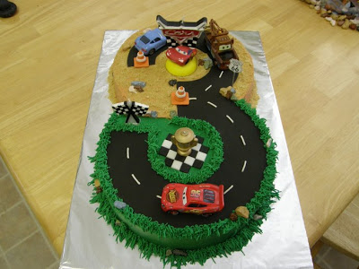 3 Year Old Boy Birthday Cake