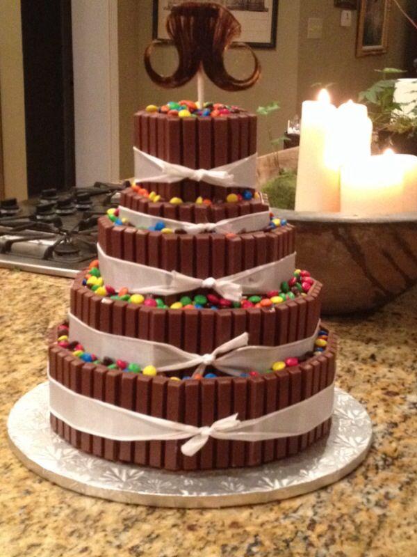 50th Birthday Tier Cake