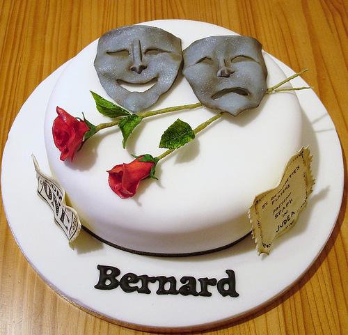 Actor Birthday Cake