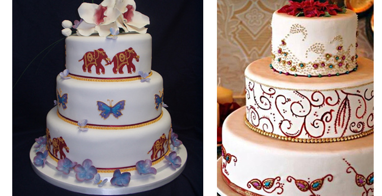 American Indian Wedding Cakes