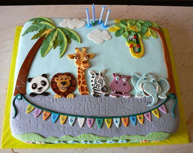 5 Photos of Publix Birthday Cakes With Zoo Animals
