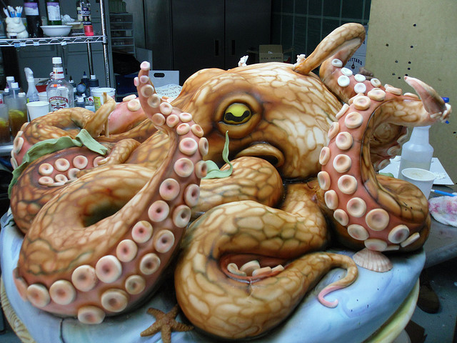 Awesome Octopus Cake