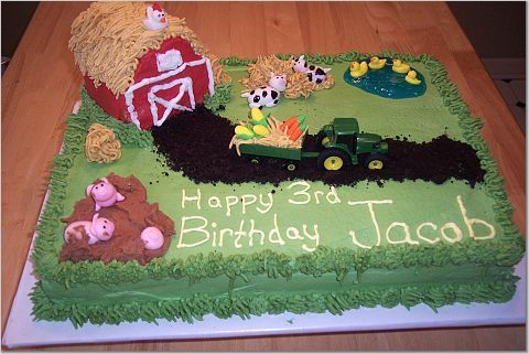 Barn Birthday Cakes for Kids