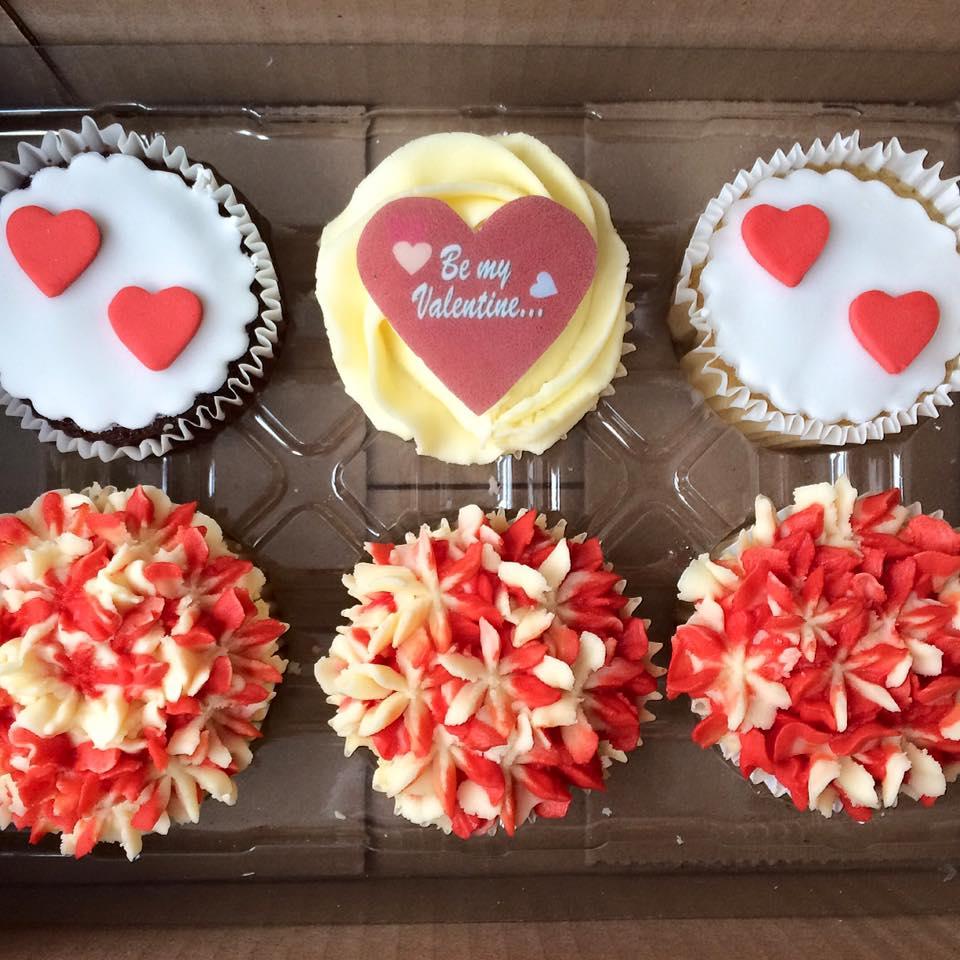 Be My Valentine Cupcake