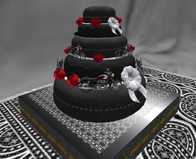 Biker Wedding Cake Idea