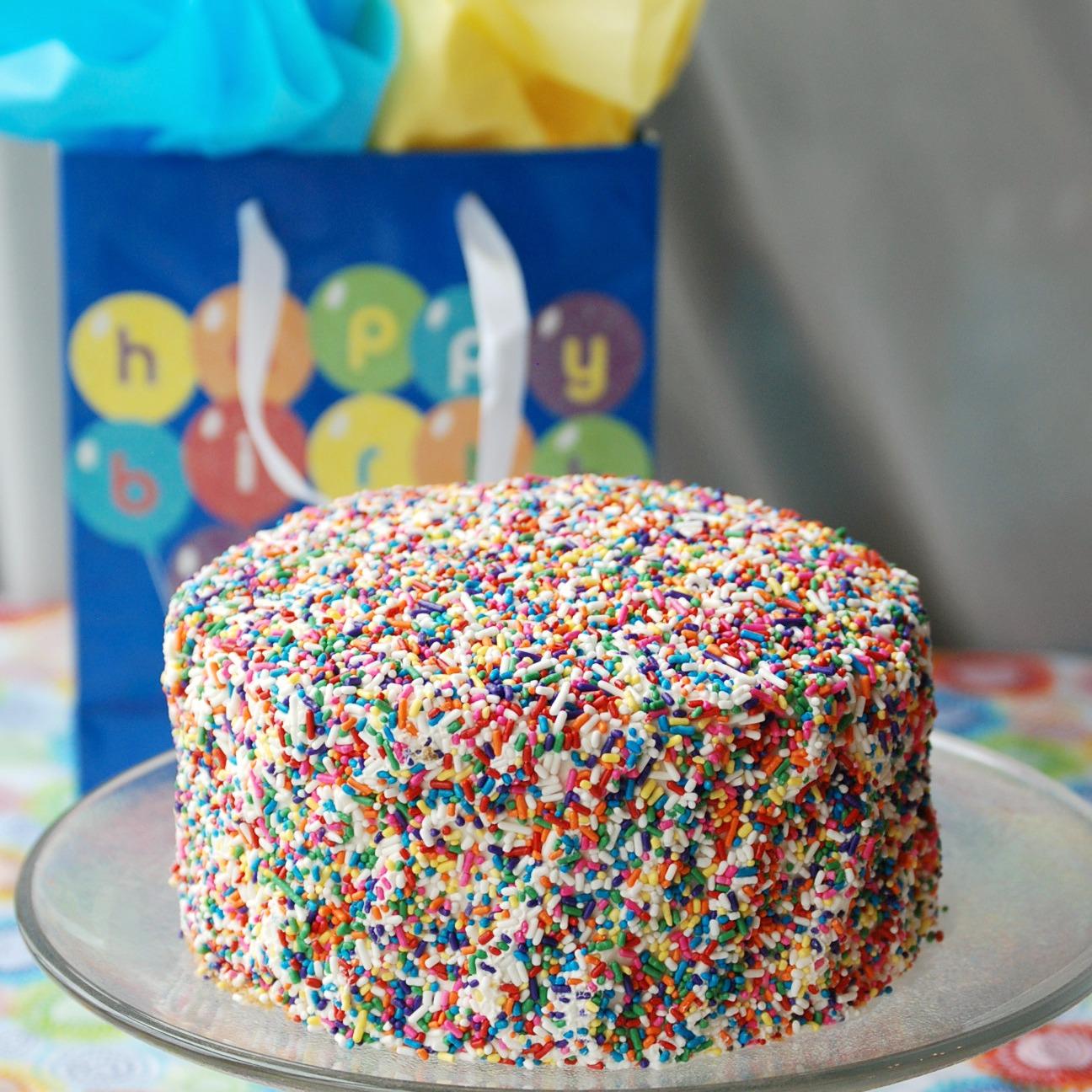 Birthday Cake Sprinkles
