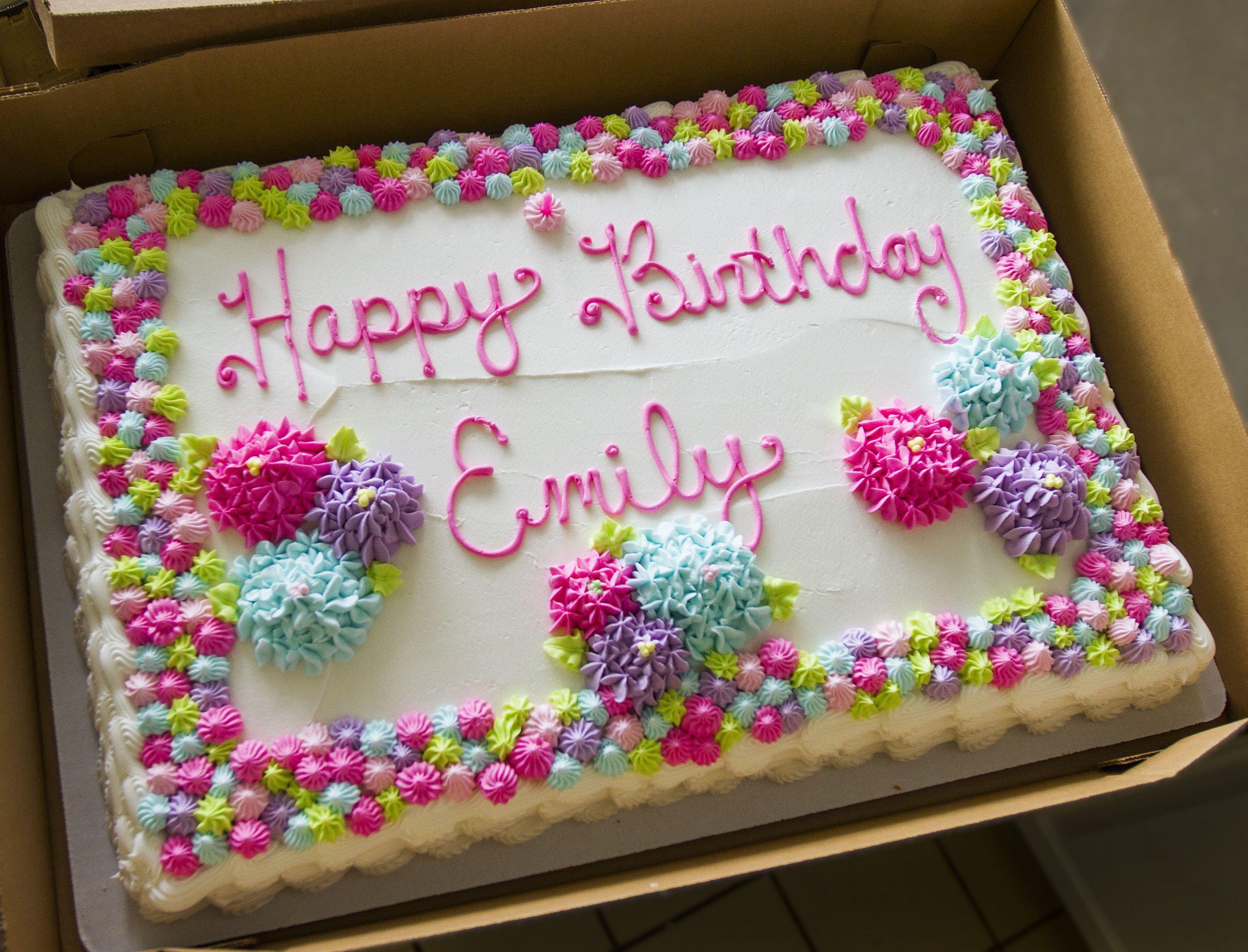 Birthday Sheet Cake Ideas