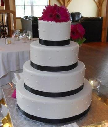 Blue Bunny Ice Cream Wedding Cake
