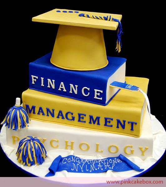 Book Graduation Cake Ideas