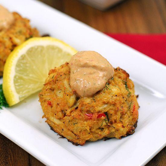 Cajun Remoulade Sauce Crab Cakes