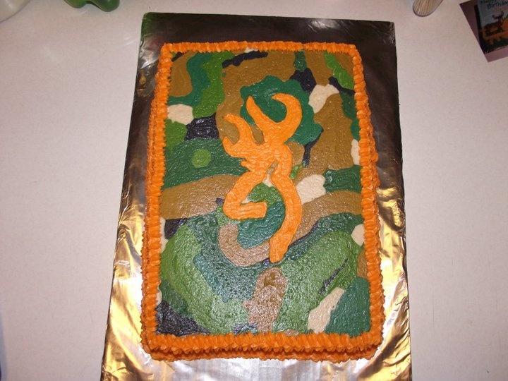 Camouflage Birthday Cake Ideas