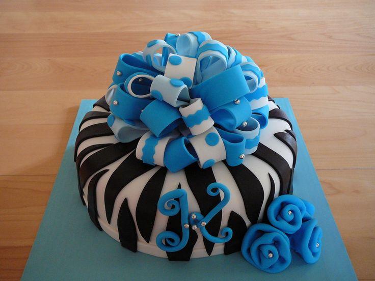 Chocolate Birthday Cakes for Girls