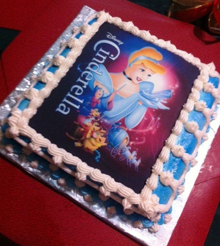 Cinderella Sheet Cake
