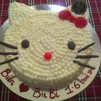 Cool Cat Birthday Cake
