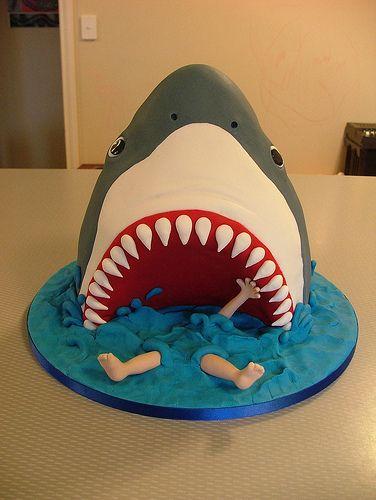 Cool Shark Cakes Birthday