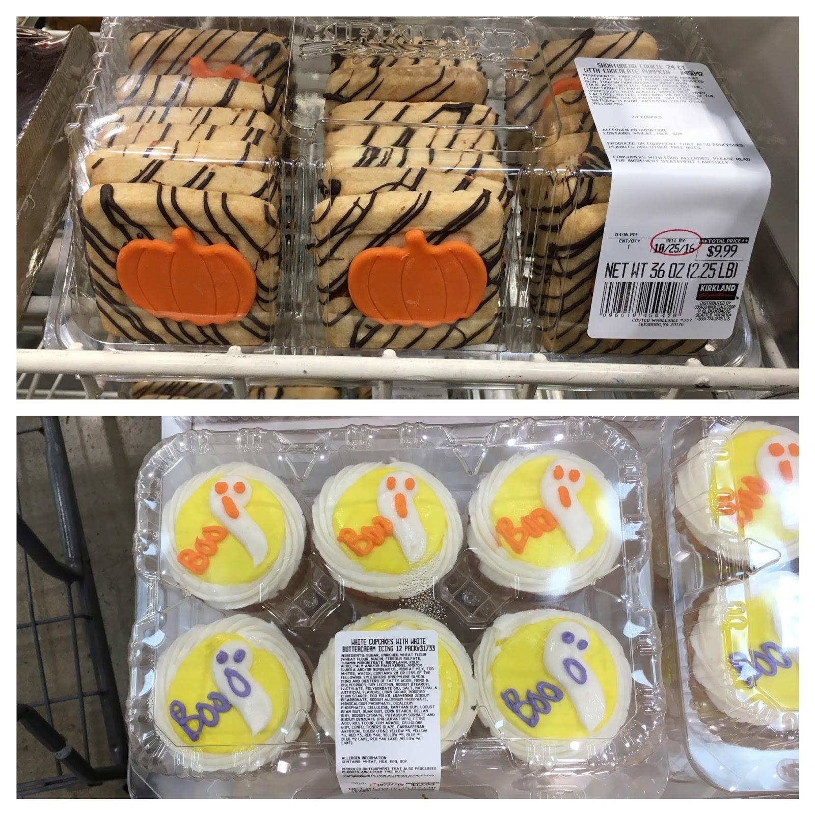Costco Halloween Cupcakes