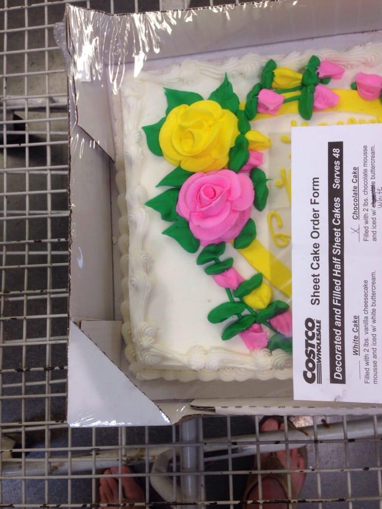 Costco Sheet Cake