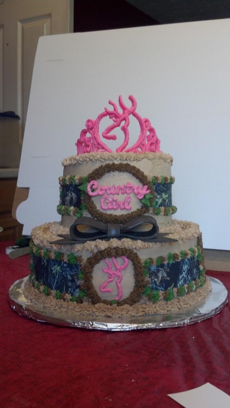 Country Girl Sweet 16 Cake