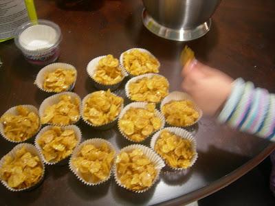 Crunchy Munchy Honey Cakes Recipe