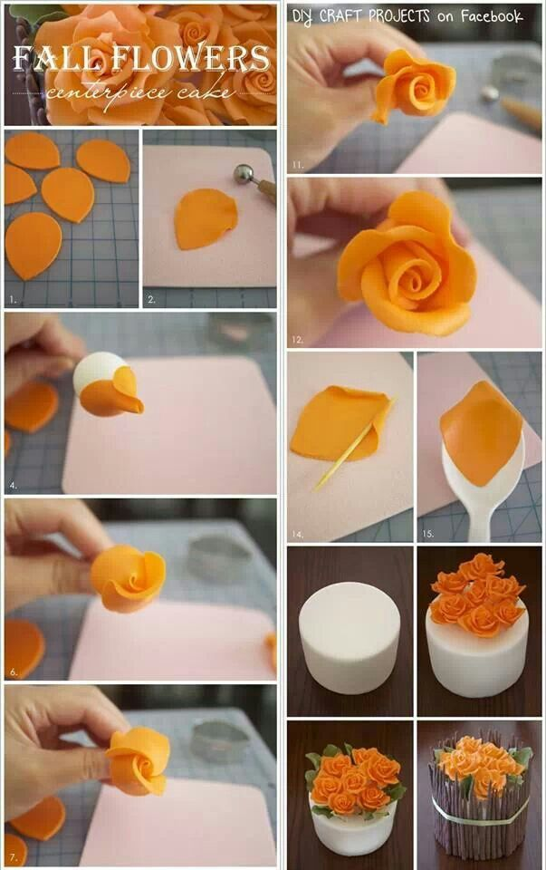 Cute Fall Cake Decorating Ideas