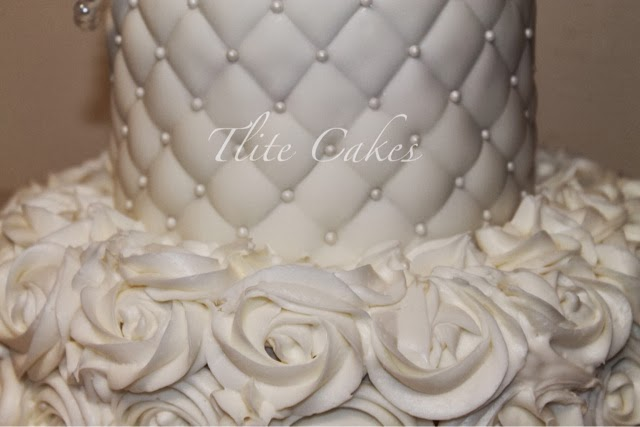 Diamonds and Pearls Theme Cake