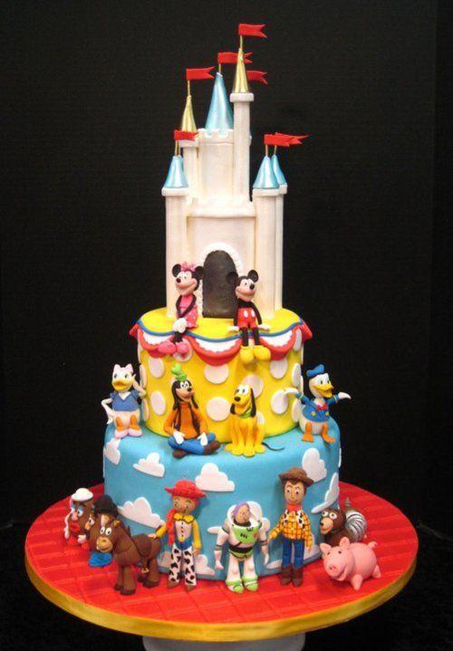12 Photos of Donald Disney World Specialty Cakes