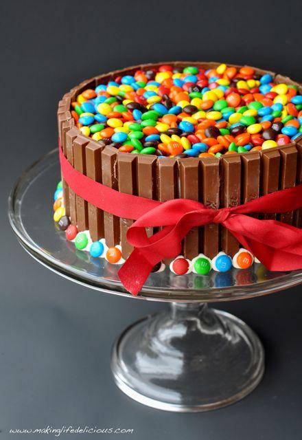 Easy M&M Cake