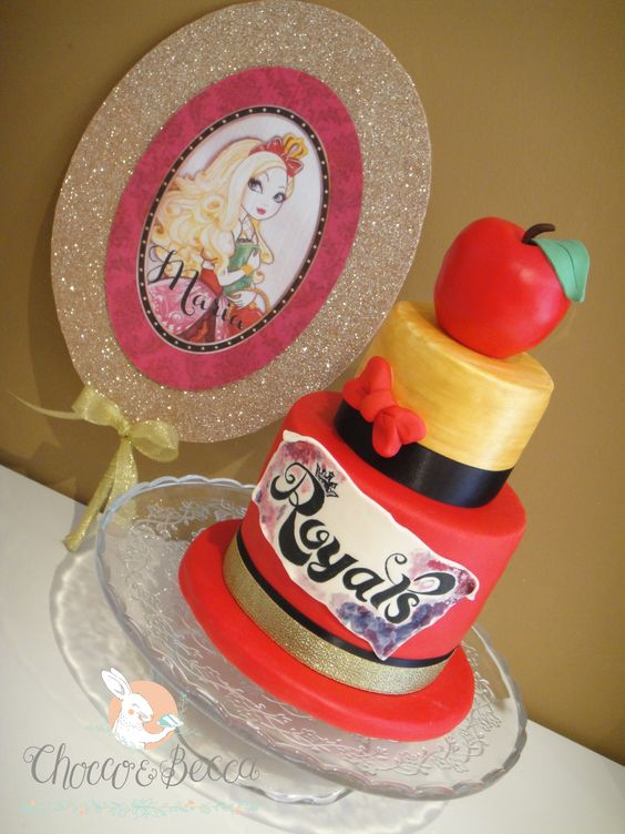 Ever After High Birthday Cake