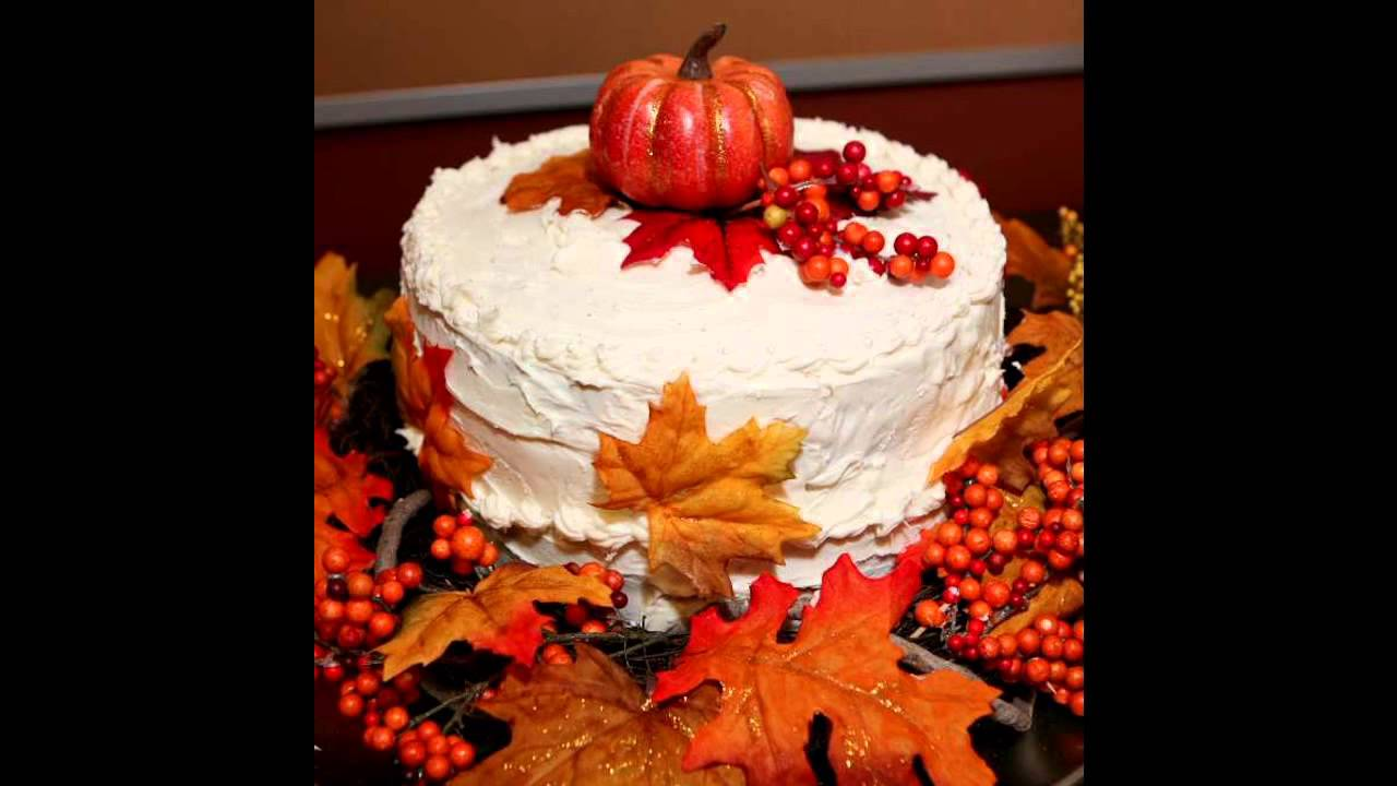 Fall Birthday Cake Decorating Ideas