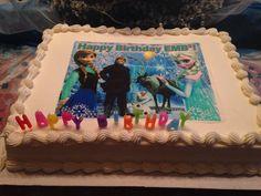 Frozen Costco Birthday Cakes