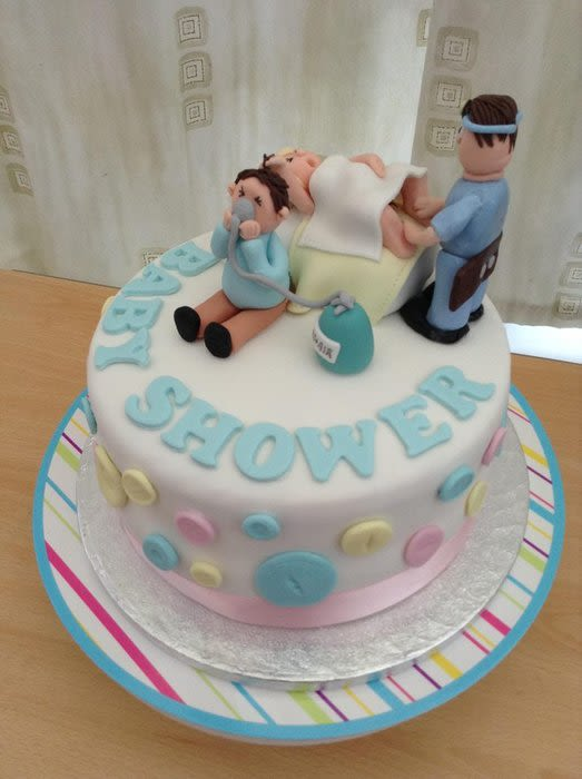 Funny Baby Shower Cakes