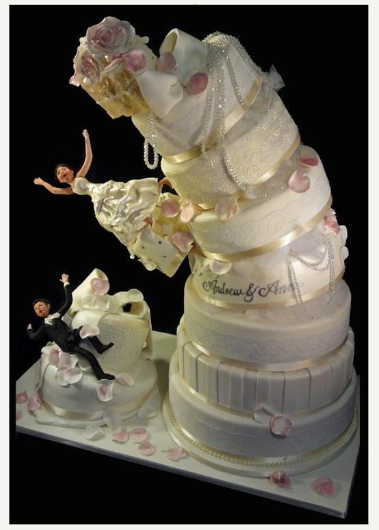 Funny Wedding Cake Idea