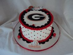 Georgia Bulldogs Birthday Cake