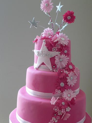 Girly Celebration Cake