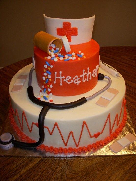 Graduation Party Cake Ideas for Nurses