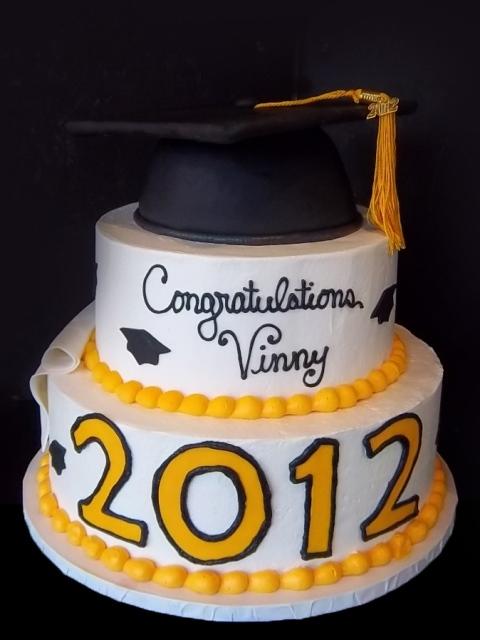 Graduation Tier Cake