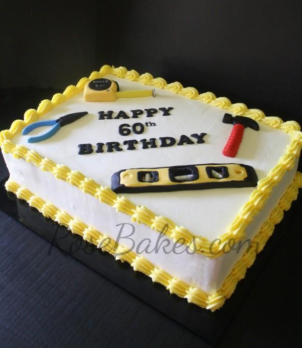 Happy 60th Birthday Cake Ideas