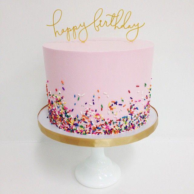 5 Photos of Simple Teenage Birthday Cakes