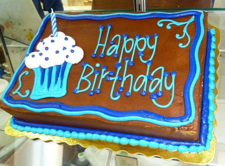 Happy Birthday Sheet Cake