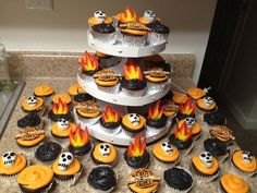 Harley-Davidson Cupcakes