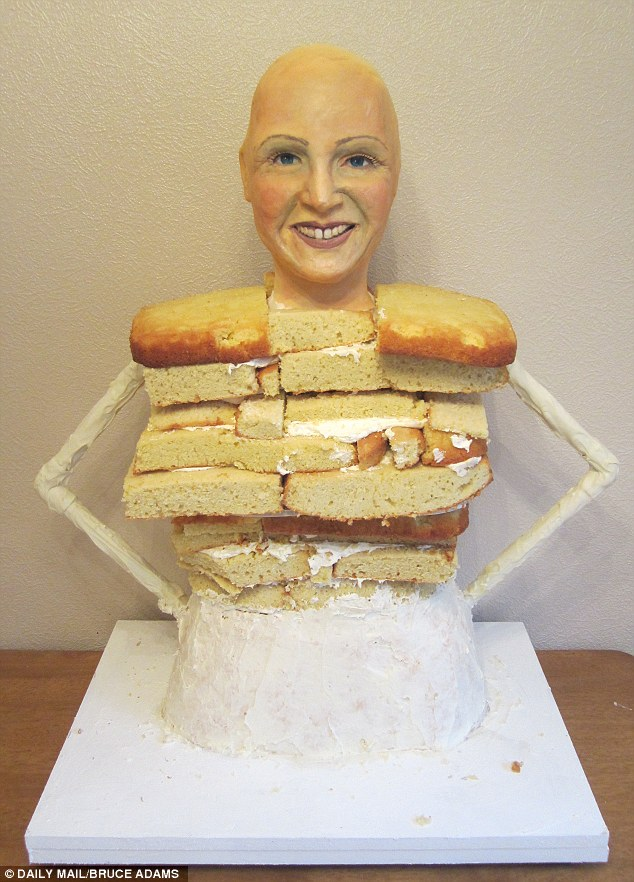 Human Life Size Cake