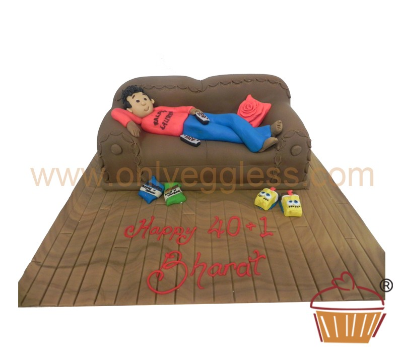 Lazy Person Cake