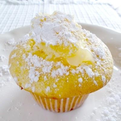Lemon Filled Cupcakes Using Cake Mix