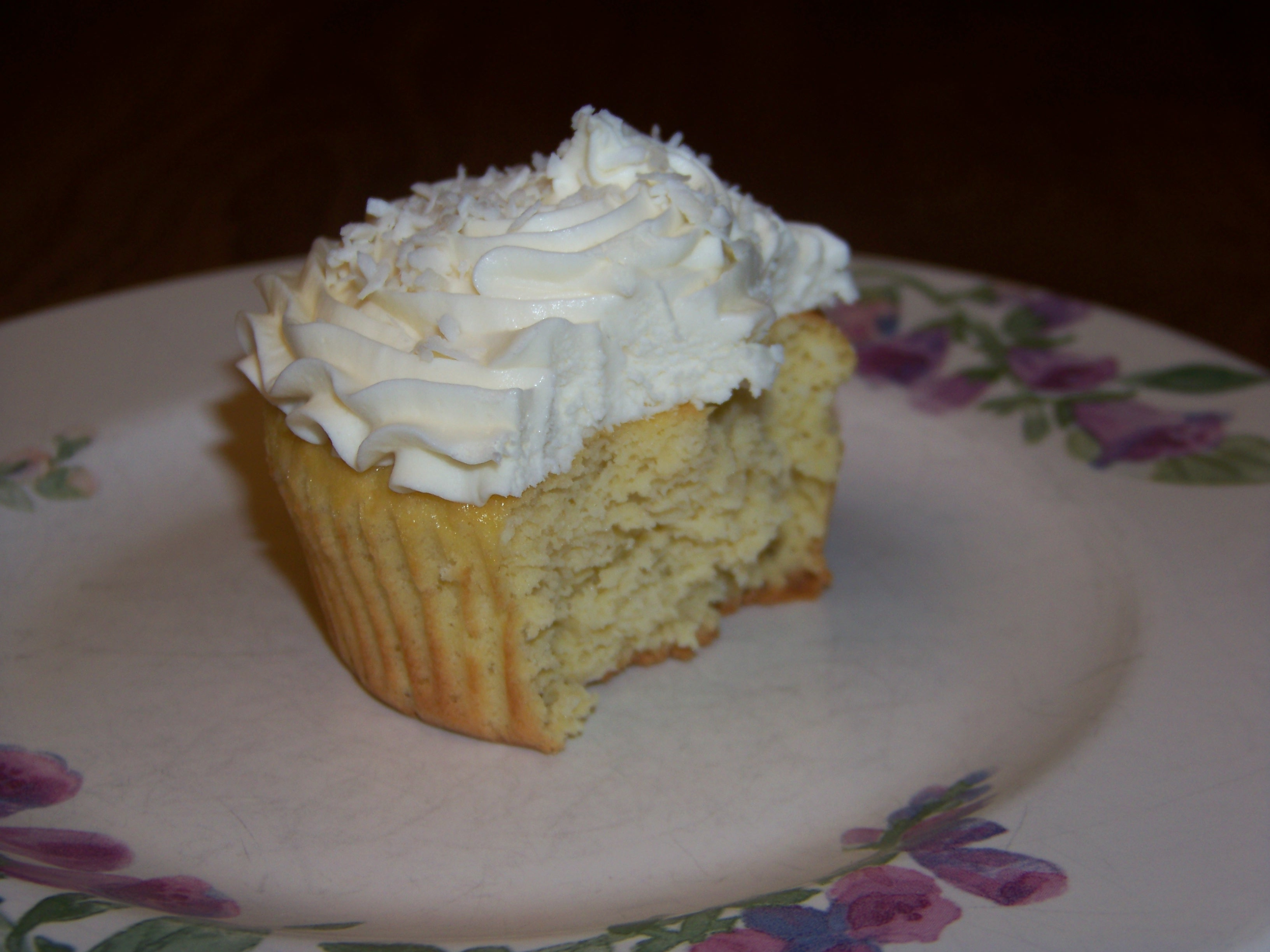 Low Carb Coconut Cupcakes