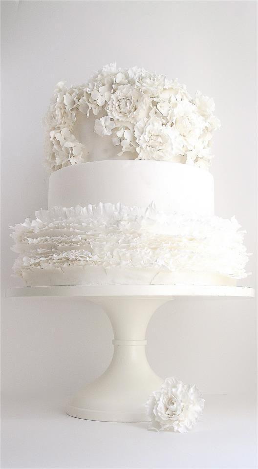 Maggie Austin Wedding Cake White