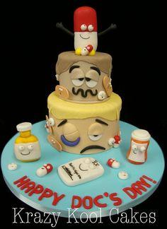 Medical Graduation Cake Ideas